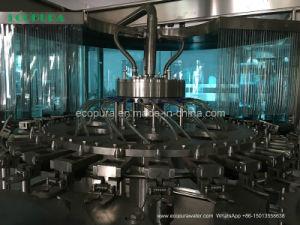 L'eau minérale Machine de remplissage / 3 en 1 Usine d'Embouteillage monobloc