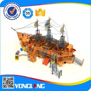 Barco Pirata de madera al aire libre para la venta de juegos Kid