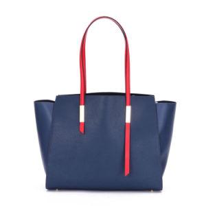 Venta caliente estilo Amercial Bolso Bolsa de cuero Real Fábrica de bolsas de dama