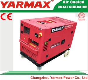 Альтернатор молчком Genset тепловозного генератора энергии Yarmax 5kw 5000W установленный