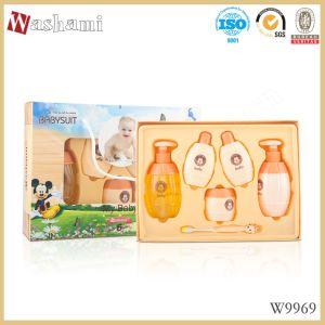 Washami Loção Hidratante 6 em 1 Kit de cuidados da pele do bebé