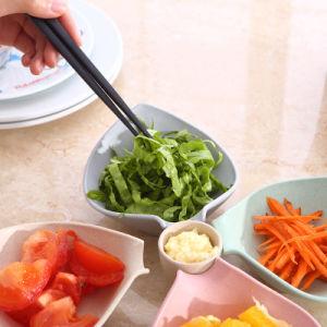 Bac d'aliments plat de fruits, plaque en bois et bambou naturel de gros (YK-P3023)