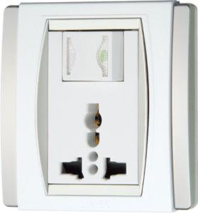 Ee-Hm-B09 1 Gang 13A Mutifunction Wall Switch