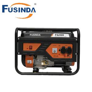 Высокое качество Fusinda бензин генератор с электроприводом и запустить двигатель