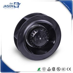 2700 rpm 60Hz paletas de plástico negro Ventilador centrífugo con certificado CE