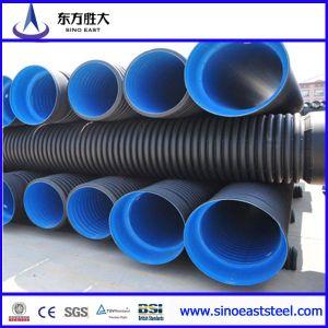 HDPE Double-Wall tubo corrugado para suministro de agua