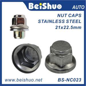 Venta caliente Cubo de rueda de acero inoxidable tapa de tornillo y tuerca de seguridad portada