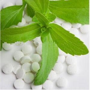 Zéro calorie stévioside Rebaudioside naturel extrait de plante Stevia