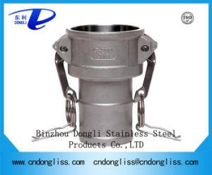 Installazioni di tubo flessibile del Camlock, tipo rapido idraulico prezzo dell'accoppiamento dell'acciaio inossidabile 304 di C