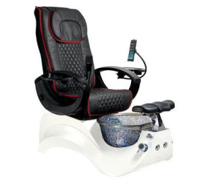 マニキュア表のFootsieの浴室のPedicureの鉱泉の椅子のガラス・ボールをネイリングしなさい
