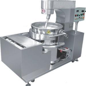 Popcorn automatico che cucina POT con il miscelatore