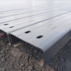 L'acier Acier Constructure Utiliser taille universelle C Canal panne