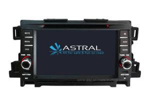 Tela sensível ao toque do leitor de DVD para automóvel Mazda CX-5 TV suporte