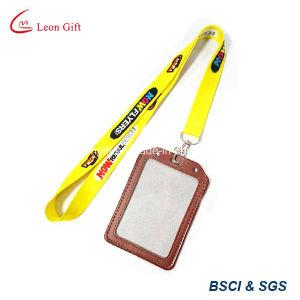 Handgemachtes Leather Card Holder mit Ribbon