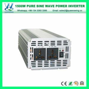 1500W Inversor de onda senoidal pura Solar com marcação CE/RoHS aprovado (QW-P1500)