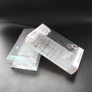 Fabricant imprimées en plastique transparent de pliage personnalisée boîtes cadeau personnalisé de l'emballage (boîte de dialogue Imprimer)