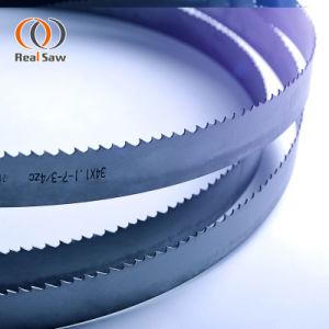 Sierra de banda de calidad para cortar las hojas de las máquinas de la sierra de cinta