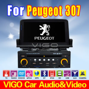 lettore DVD GPS Sat Nav TV radiofonica dell'automobile di 7&acute&acute HD per Peugeot 307 (VPE7082)