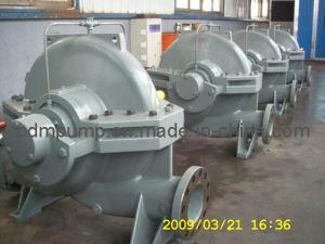 Axial aufgespaltete Pumpe