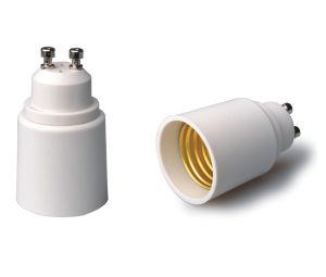 GU10 Kontaktbuchse-Adapter-dem Konverter zur Lampen-E27