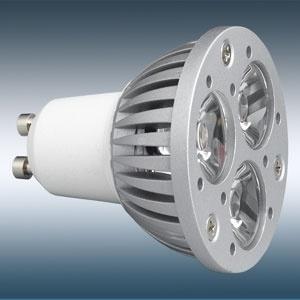 GU10 LED Soptlight Hight Energie 3*1W