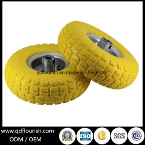 Rueda de espumas de poliuretano de neumáticos 3.50-4