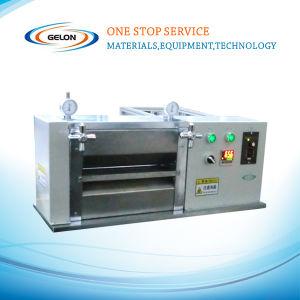 Caliente laboratorio pulsar/Calendario/máquina laminadora para laboratorio de la batería de iones de litio (GN-JS100)