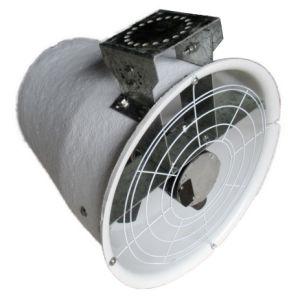 Desempenho do Ventilador Jet 20 circulador de ar para ventilação dos produtos lácteos