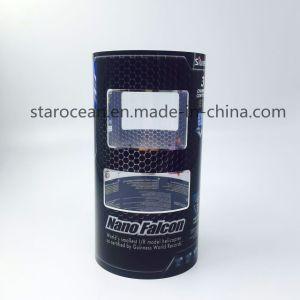 紫外線印刷を用いるプラスチック管円形ボックス