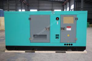 Generatore diesel insonorizzato con il motore 100kVA/80kw della Perkins