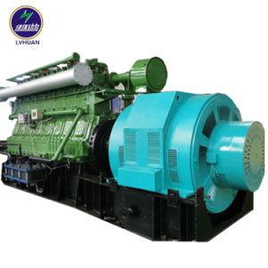 300 Raffinerie-Abgas-Generator der Serien-1MW 2MW langsamer