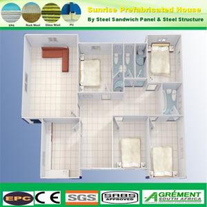 Diseño moderno contenedor de paneles sándwich de bajo costo Precio de la casa prefabricados
