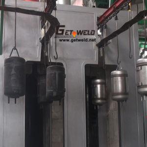電気水漕のヒーターの生産ラインサンドブラスト機械