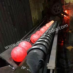 Dia. 1-5 Balle de broyage en acier forgé utilisé dans les mines de métaux