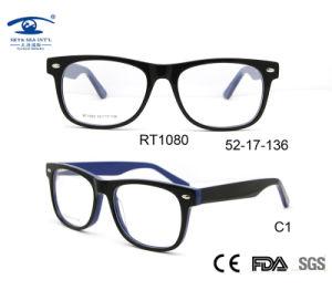 Klaar Goederen van het Frame van de Glazen van de Rechthoek van Eyewear van het Frame van de acetaat de Optische