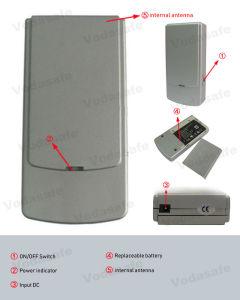 De Stoorzender 1805MHz-1880MHz, GPS van PCs 1900MHz-1990MHz 3G 2110MHz-2170 Mhz Volgende Blocker van de zak GSM/GPS van het Apparaat