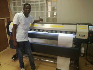 stampante solvibile larga 1.8m di formato XP600 Eco di 1.6m per stampa di carta dei pp