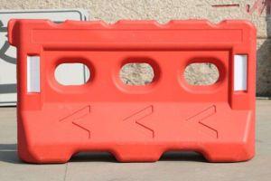 Barreira de tráfego de segurança em plástico
