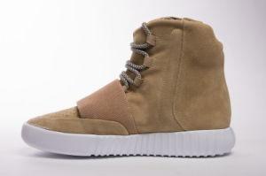 Los originales de 2017, Boost Yeezy Zapatillas 750 4 Colores moda tobillo impulsar a los hombres y mujeres los zapatos de alta envolver las zapatillas de deporte calzado deportivo