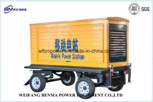 Exquisit remolque Portátil Generador Diesel para la producción agrícola
