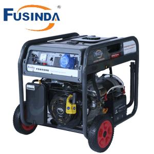 6500 와트 휴대용 힘 가솔린 발전기 (FD8500E)