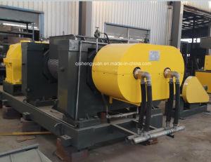 Spreco automatico/frantoio utilizzato della gomma per il pneumatico che ricicla riga