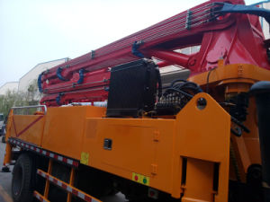 37m New Design 4*2 Truck Mounted Concrete Boom Pump