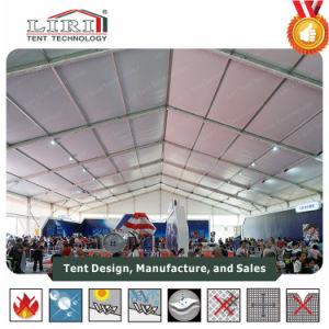 40X60mアルミニウム屋外展覧会のテント、白いカラーPVCサイドウォールのパーマの構造