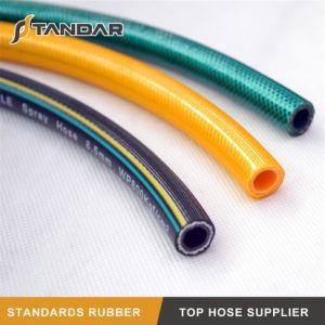 O PVC flexível de alta pressão da mangueira de pulverização agrícola