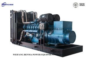 1500 Kw/1875 KVA Weichai Motor-Serien-Dieselgenerator-Set unter BV-Bescheinigung