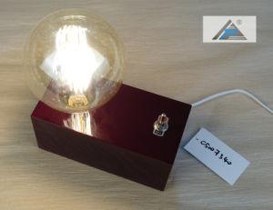 La lámpara de mesa decorativos de madera (C5007340)