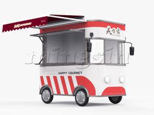 Мороженое, утвержденном CE продажи мобильных кухня погрузчика для продажи