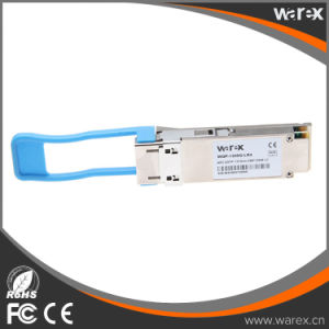 Cisco QSFP-40G-LR4の互換性のある40GBマルチレートサポートLC、10のKmの4 10Gbps CWDMの波長QSFP+のトランシーバ