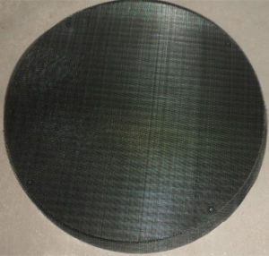 Ss304 gesponnene Maschendraht-gesinterte Extruder-Bildschirm-Filter-Platten